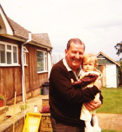 Dad and Gemma 1