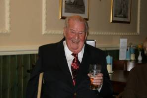 Dad with pint