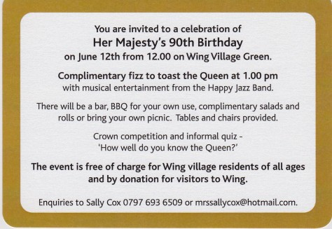 HRH 90th Birthday Celebration