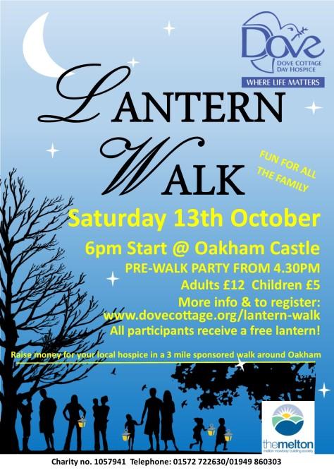 lantern walk poster new